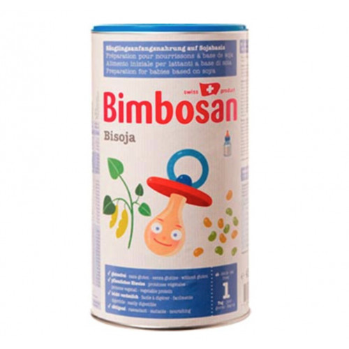 BIMBOSAN Bisoja Säuglingsnahrung Ds 450 g