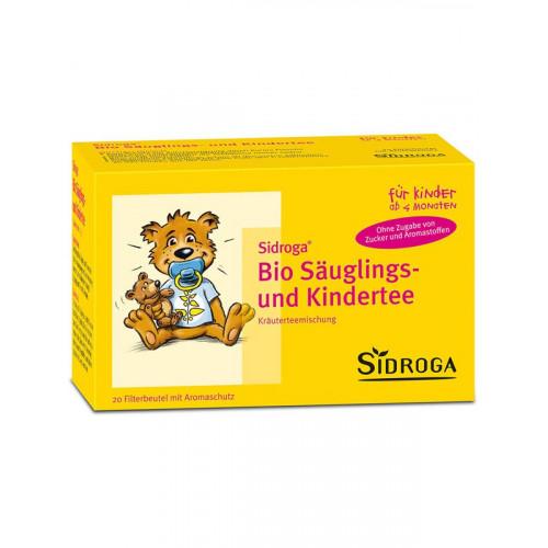 SIDROGA Bio Säuglings- und Kindertee 20 Btl 1.3 g