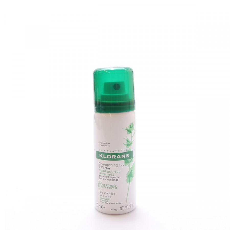 Hier sehen Sie den Artikel KLORANE Trockenshampoo Brennnessel Spr 50 ml aus der Kategorie Trockenshampoo. Dieser Artikel ist erhältlich bei unseredrogerie.ch