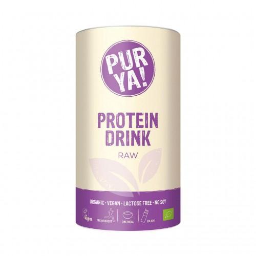 PURYA! Vegan Proteindrink Raw Bio 550 g