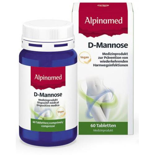 ALPINAMED D-Mannose Tabl Ds 60 Stk