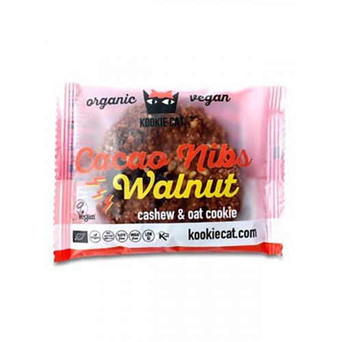 KOOKIE CAT Cacao Nibs Walnut Cookie 50 g