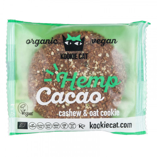 KOOKIE CAT Hemp Cacao Cookie 50 g