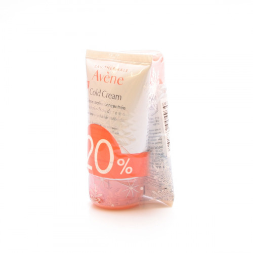 AVENE Cold Cream Duo 20% Handcreme Intens
