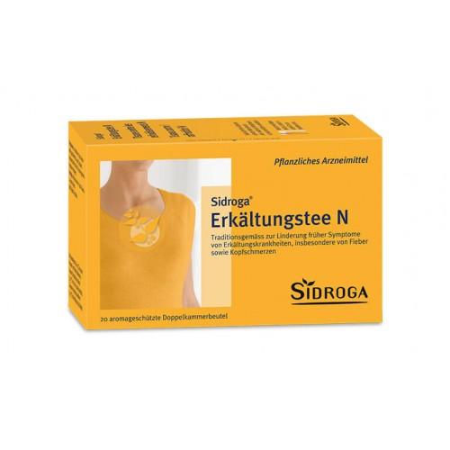 SIDROGA Erkältungstee N 20 Btl 2 g