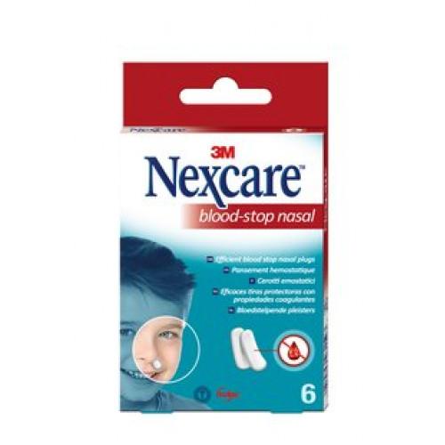 3M NEXCARE Blood Stop Nasal Plugs Box 6 Stk