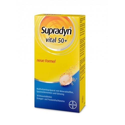 SUPRADYN Vital 50+ Brausetabl 30 Stk