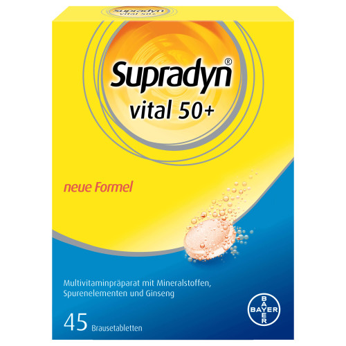 SUPRADYN Vital 50+ Brausetabl 45 Stk