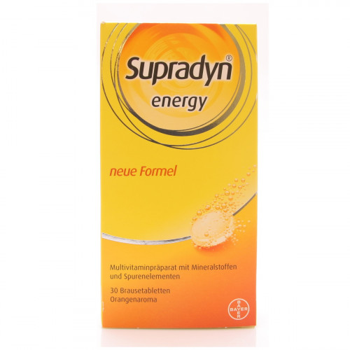 SUPRADYN energy Brausetabl orange 30 Stk