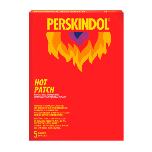 PERSKINDOL Hot Patch 5 Stk