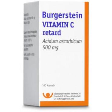 BURGERSTEIN Vitamin C Ret Kaps 500 mg 100 Stk
