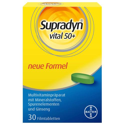 SUPRADYN Vital 50+ Filmtabl 30 Stk