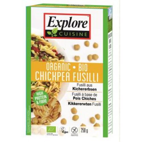 EXPLORE CUISINE Fusilli aus Kichererbs Bio 250 g