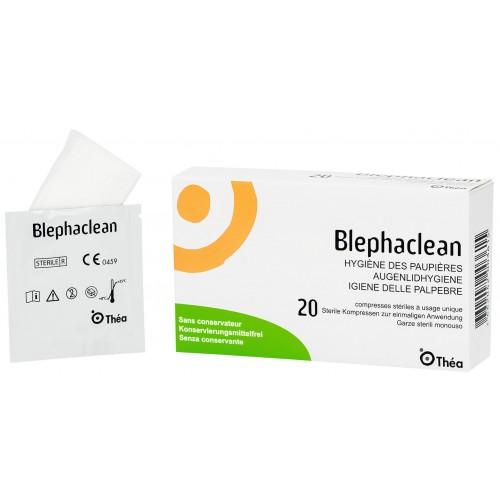 BLEPHACLEAN Kompresse steril 20 Stk