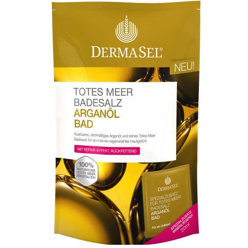 DERMASEL Badesalz Arganöl Btl 400 g