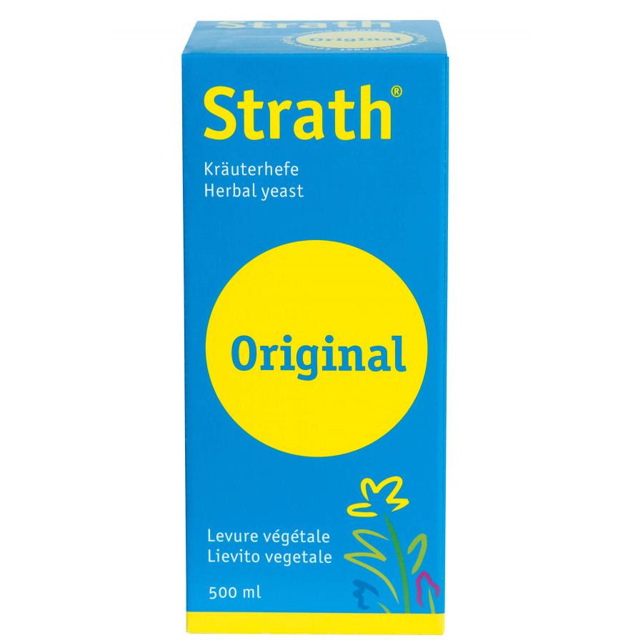 Hier sehen Sie den Artikel STRATH Original liq 500 ml aus der Kategorie Kurmittel/Nahrungsergänzung. Dieser Artikel ist erhältlich bei unseredrogerie.ch