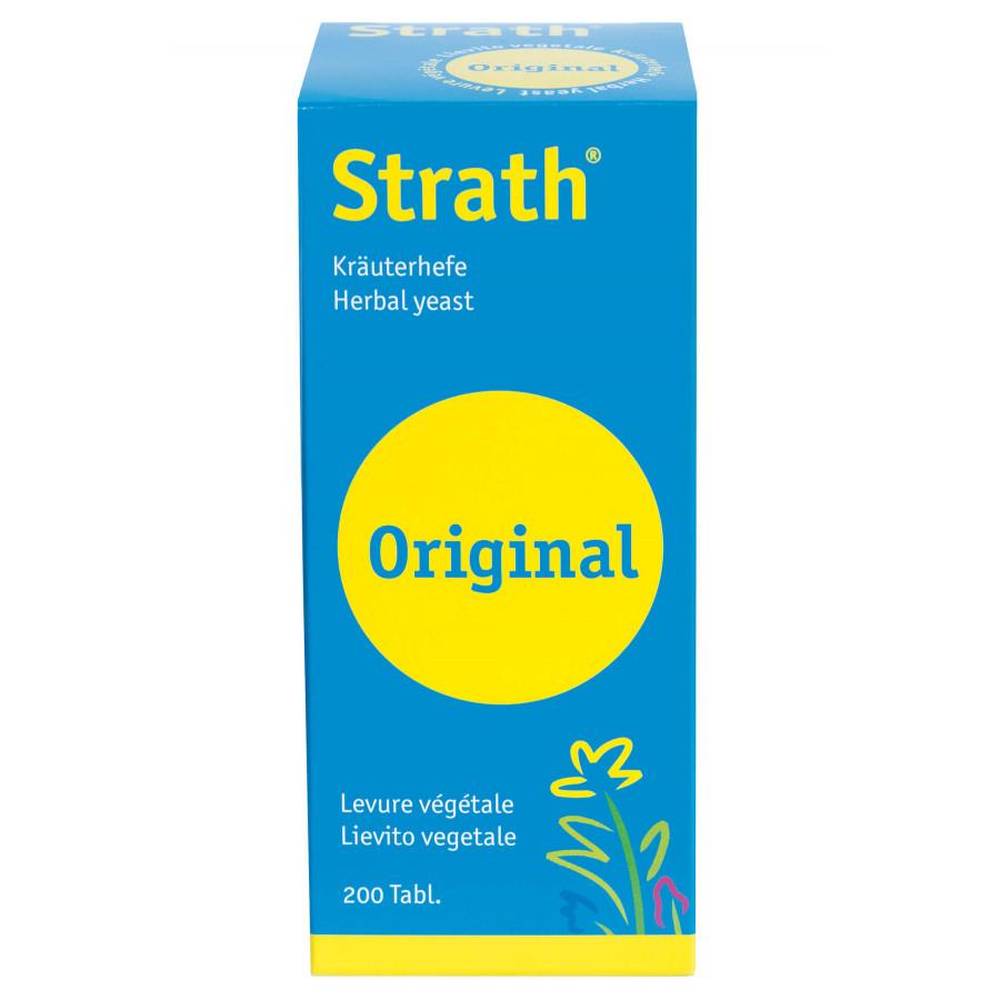 Hier sehen Sie den Artikel STRATH Original Tabl 200 Stk aus der Kategorie Kurmittel/Nahrungsergänzung. Dieser Artikel ist erhältlich bei unseredrogerie.ch