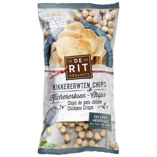 DE RIT Kichererbsen-Chips Meersalz Bio 75 g