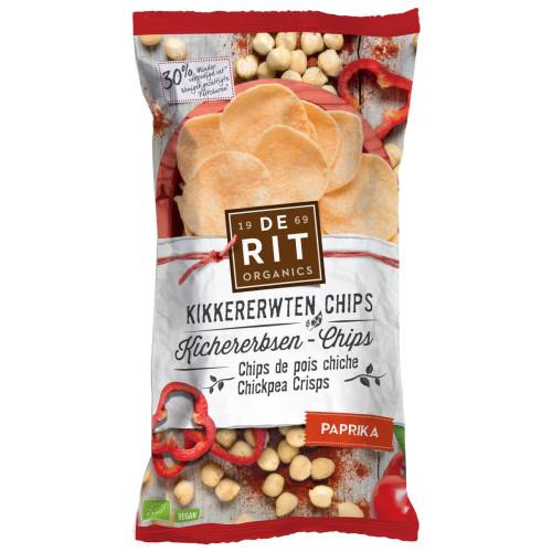 DE RIT Kichererbsen-Chips Paprika Bio 75 g
