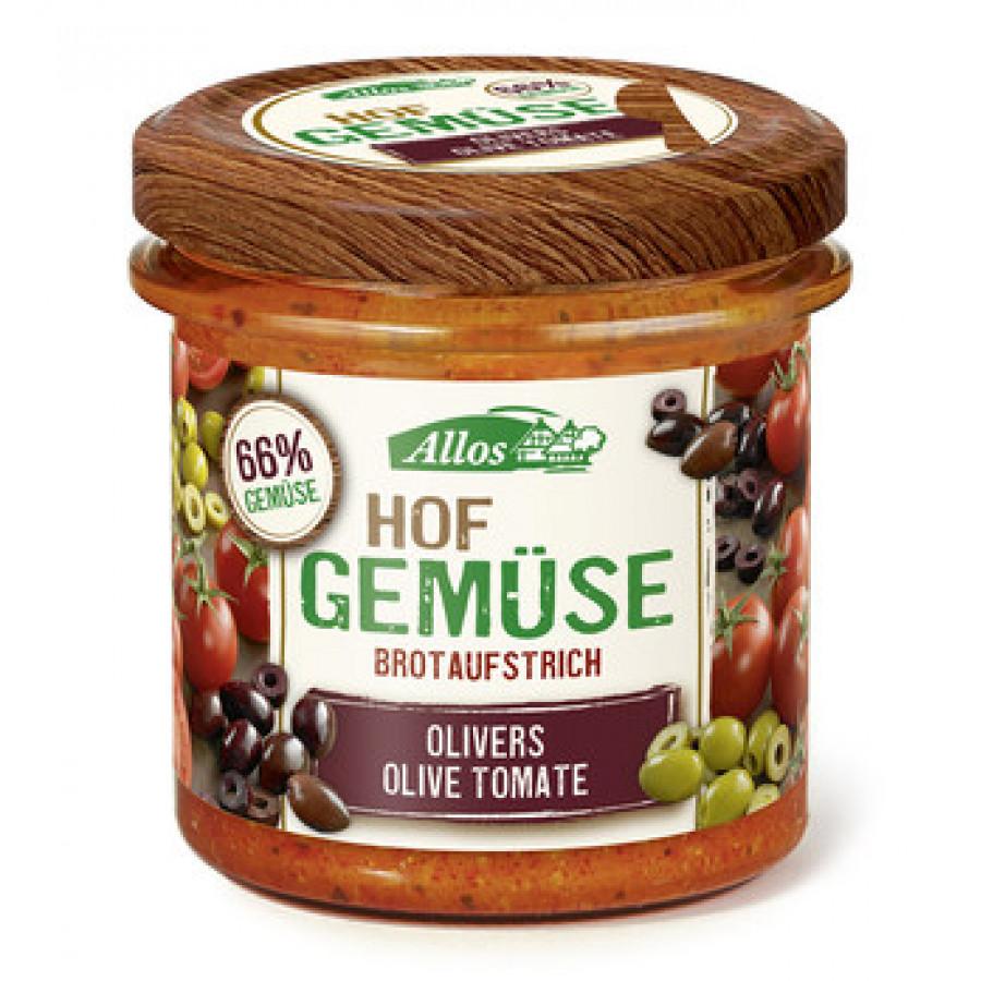 ALLOS Brotaufstrich Olive Tomate Bio 135 g