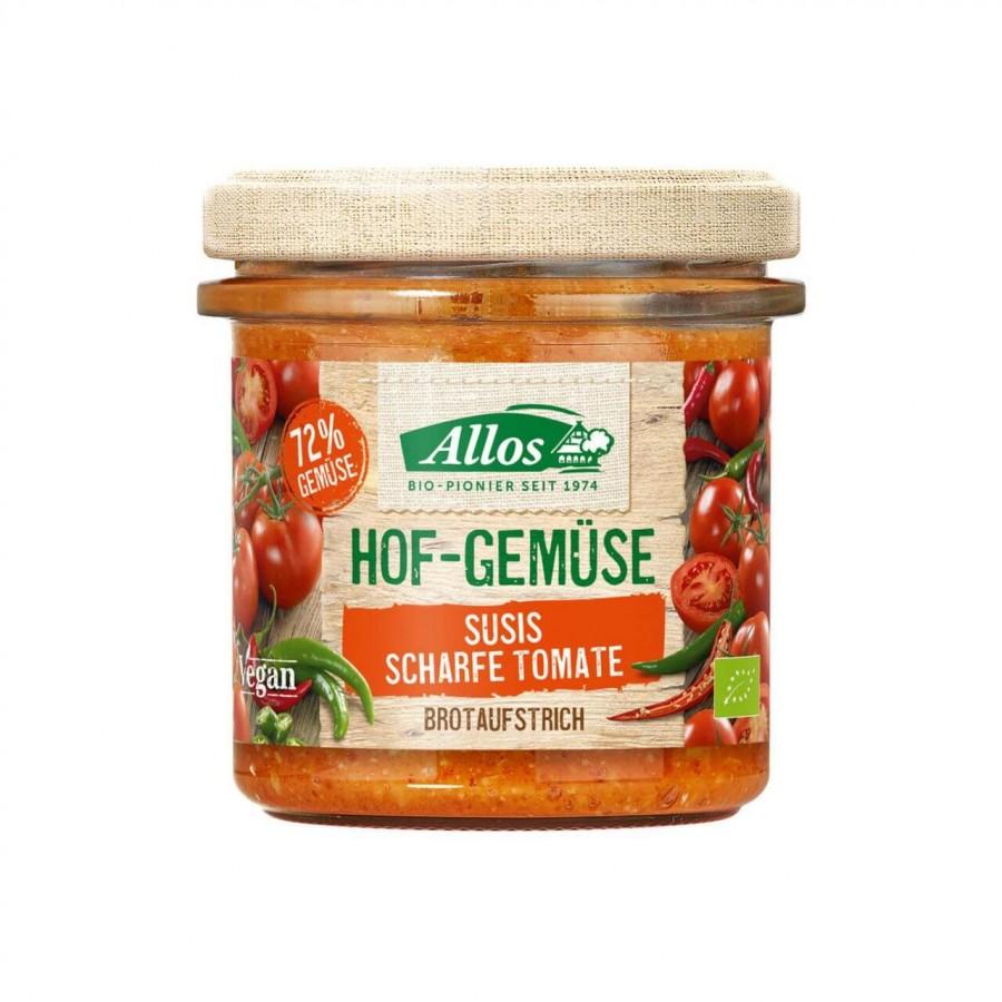 ALLOS Brotaufstrich scharfe Tomate Bio 135 g
