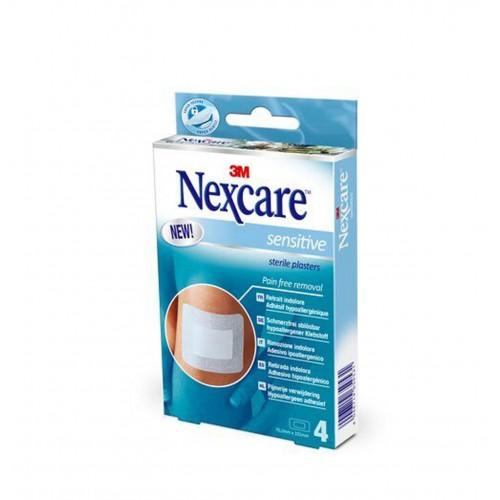 3M NEXCARE Sensitive Skin Pads 76.2x101mm 4 Stk