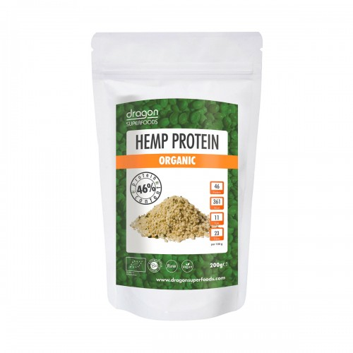 DRAGON SUPERFOODS Hanf-Protein Pulver 200 g