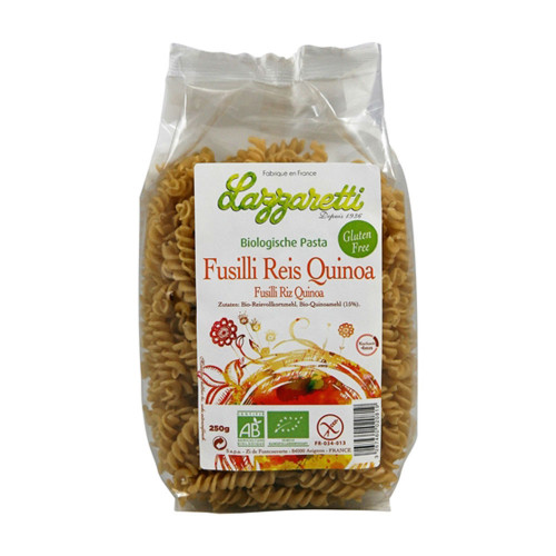 LAZZARETTI Fusilli Reis & Quinoa Btl 250 g
