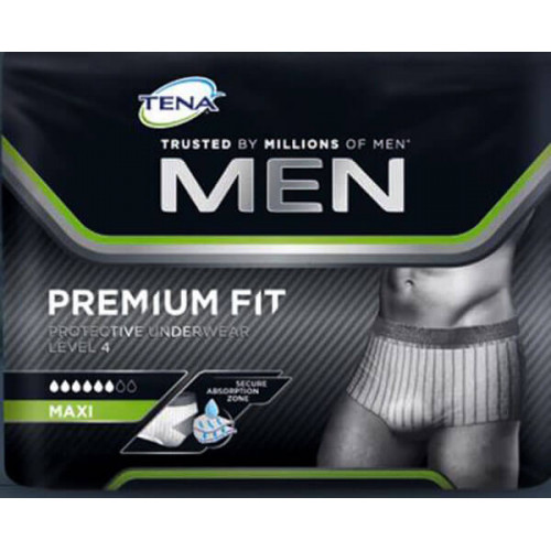 TENA Men Premium Fit Underwear Level 4 M 12 Stk