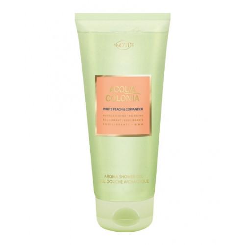 4711 ACQUA COLONIA White Peach &Coriander Aroma Shower Gel 200 ml