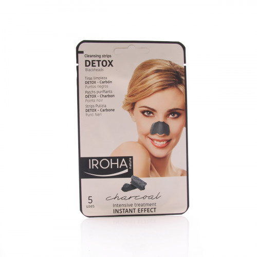 IROHA Detox Cleansing Strips Nose 5 Stk