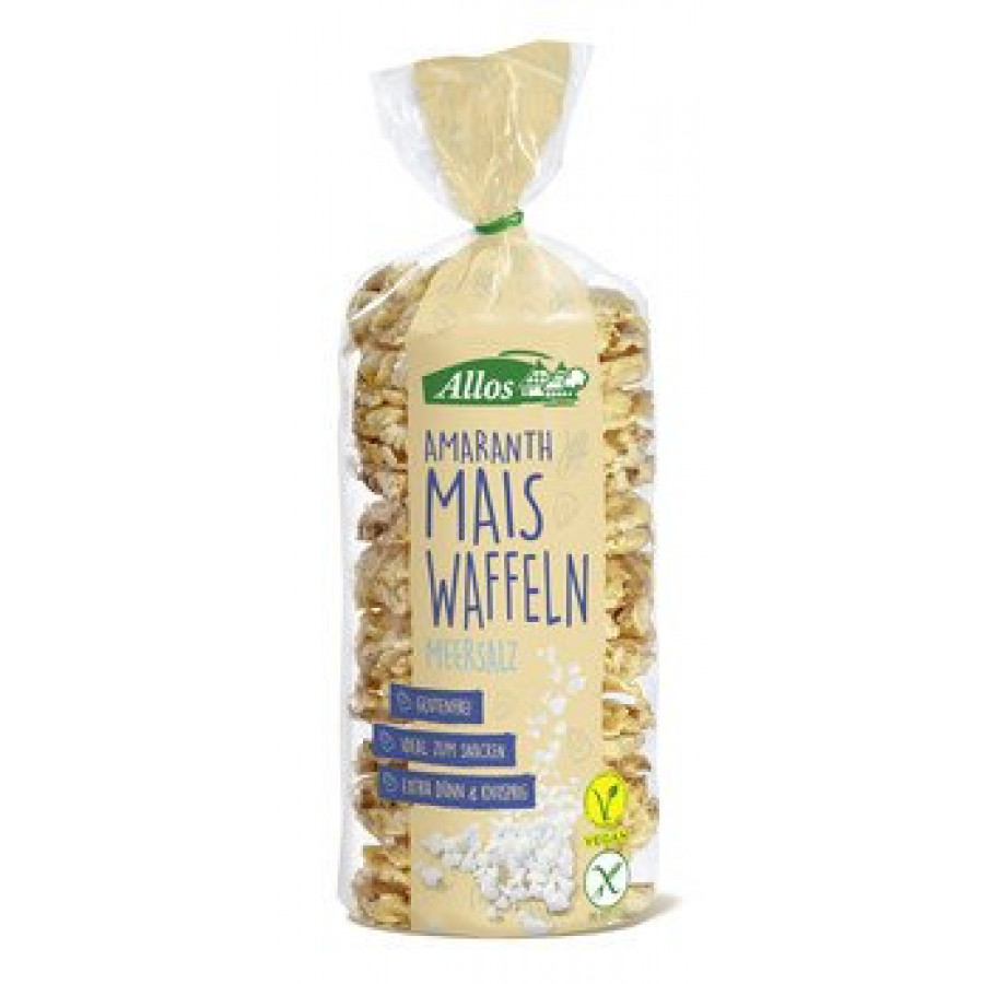 Hier sehen Sie den Artikel ALLOS Amaranth Mais Waffeln Meersalz 100 g aus der Kategorie Brot/Knäckebrot/Zwieback. Dieser Artikel ist erhältlich bei apothekedrogerie.ch