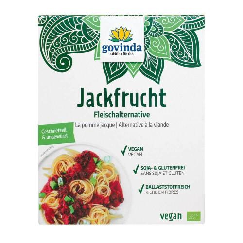 GOVINDA Jackfrucht-Fruchtfleisch Schnet Bio 218 g