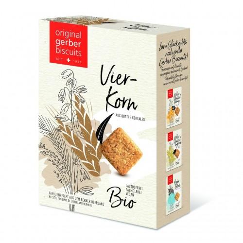 GERBER Vierkorn Biscuits Bio 160 g