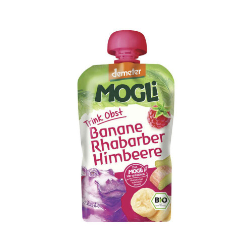 MOGLI Moothie Himbeere demeter Btl 100 g