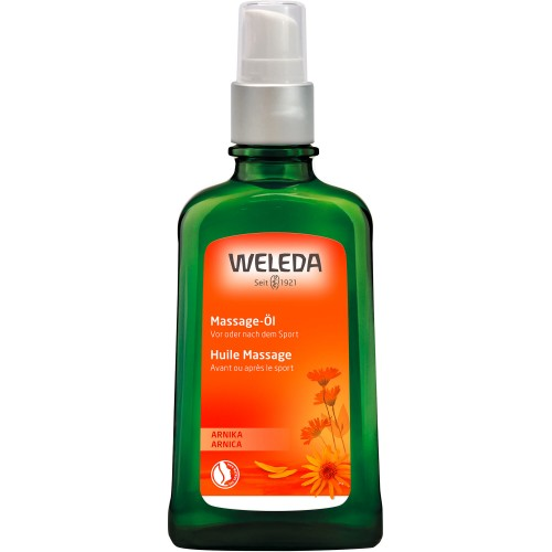 WELEDA Arnika Massage-Öl Glasflasche 100 ml
