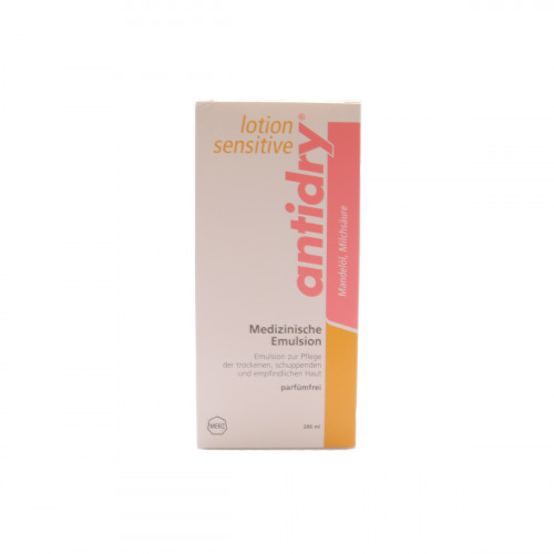 ANTIDRY Lotion sensitive Emuls parfumfr Fl 200 ml