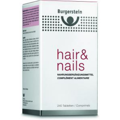 BURGERSTEIN Hair & Nails Tabl 240 Stk