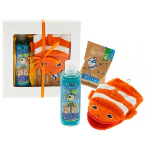 AROMALIFE Geschenkset Kids Boy Dusch&Badehandschuh