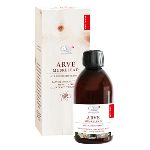 AROMALIFE ARVE Vital-Muskelbad Edelweissext 250 ml