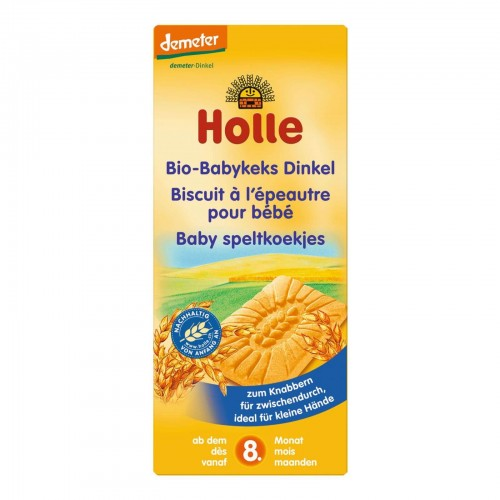 HOLLE Babykeks Dinkel Bio 150 g