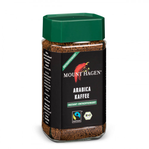 MOUNT HAGEN Bohnenkaf lösl o Koff Bio Fairtr 100 g
