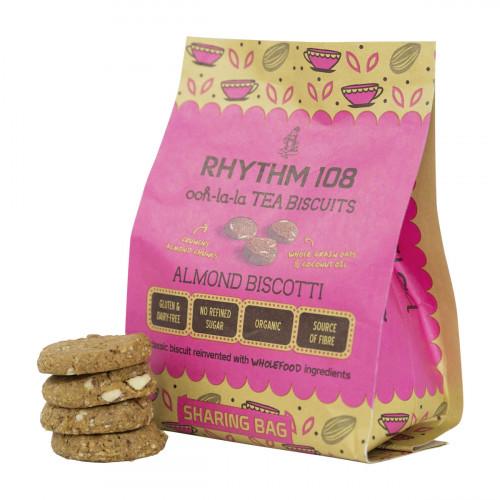 RHYTHM108 Almond Biscotti Btl 160 g