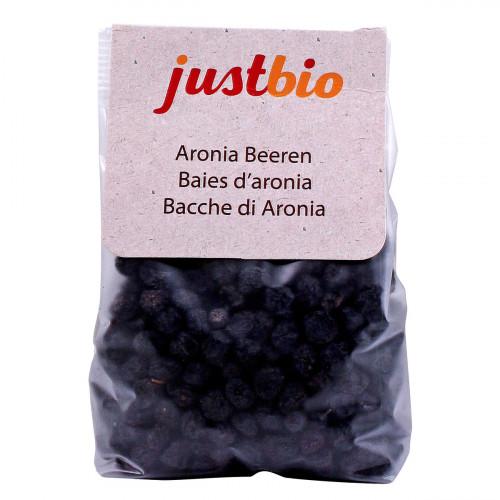 JUSTBIO Aronia Beeren Btl 150 g