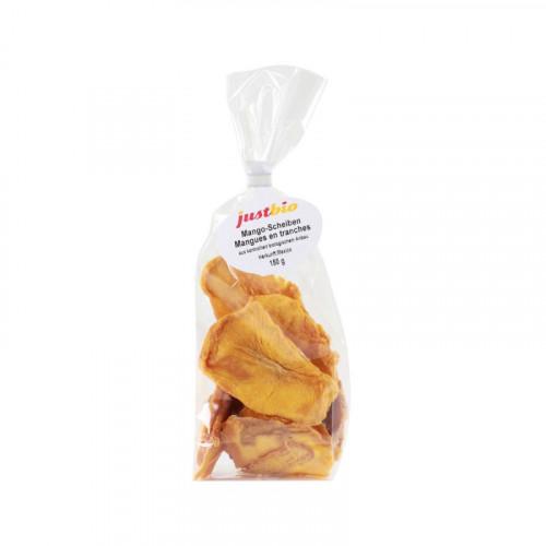 JUSTBIO Mangoscheiben Btl 150 g