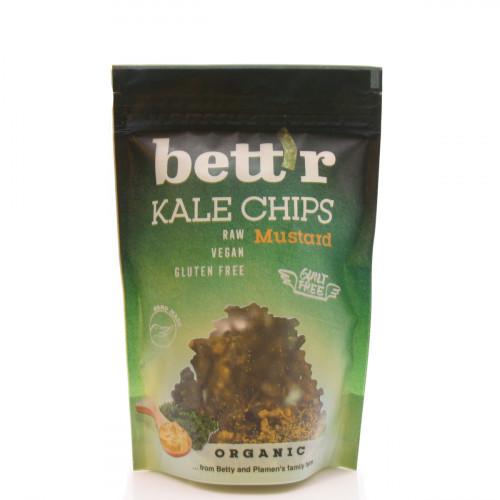 BETT'R Kale Chips Mustard Btl 30 g