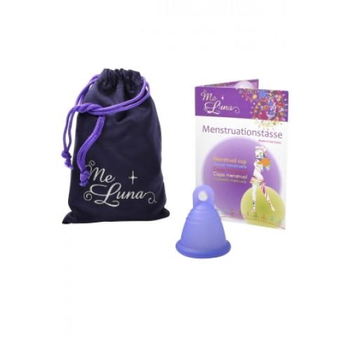 ME LUNA Menstruationstasse Sport Shorty S Blau-Violett
