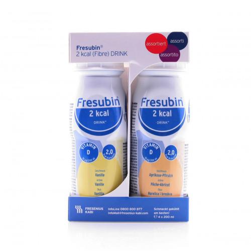 FRESUBIN 2 kcal Fibre DRINK assortiert 4 Fl 200 ml