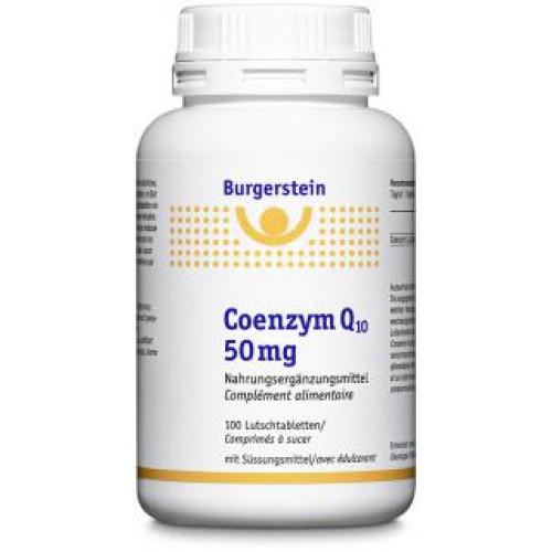BURGERSTEIN Coenzym Q10 Lutschtabl 50 mg 100 Stk