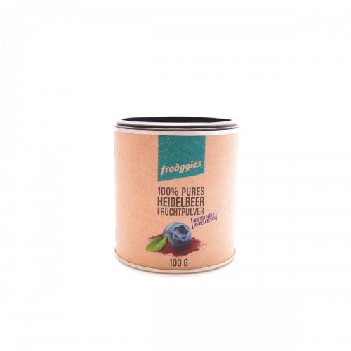 FROOGGIES Früchtepulver Wildheidelbeere Ds 100 g